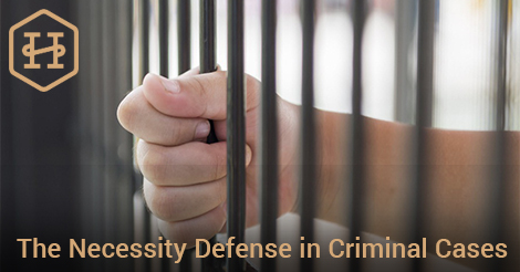 The Necessity Defense in Criminal Cases