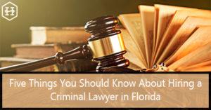 Criminal Lawyer in Florida