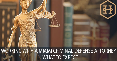 Working with A Miami Criminal Defense Attorney – What to Expect